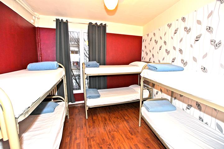 6 person female dorm